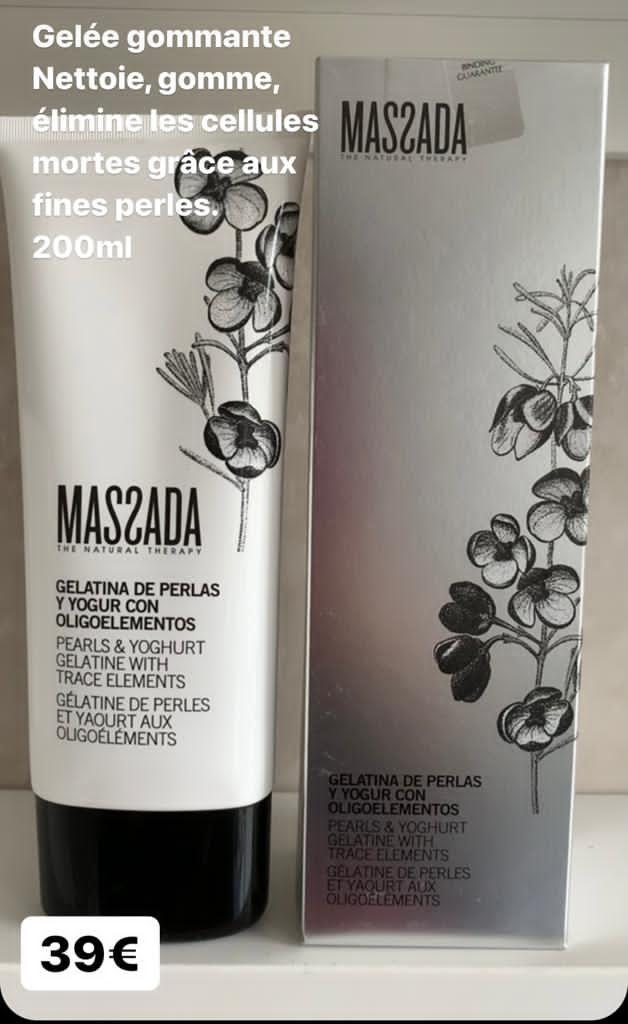 Gelée gommante – Massada